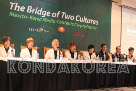 MBLAQ IN MEXICO PRESS CONFERENCE