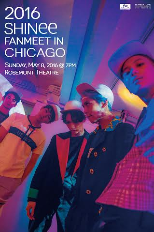 Shinee in Chicago